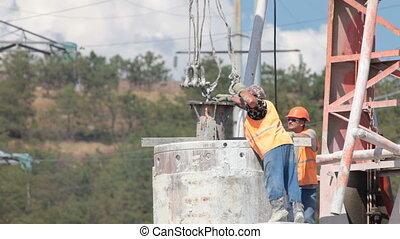 lifting by crane