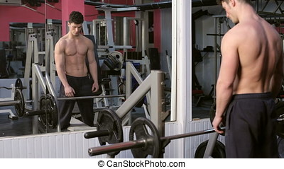 Lifting Heavy Weights In The Gym