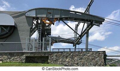Lifting mechanism cableway Armenia