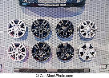 liga, diferente, rodas, venda