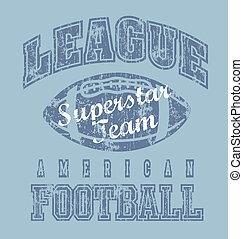 liga, fútbol americano
