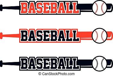 liga, temat, baseball