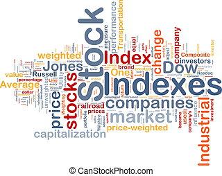 liggen, index, achtergrond, concept