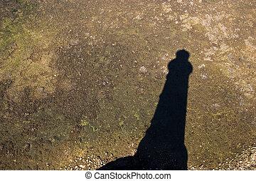 lighhouse shadow