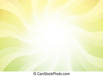 Light abstract background in green color