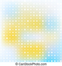 Light abstract background with circles