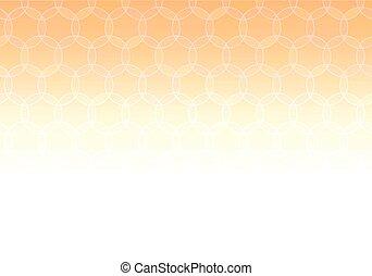 Abstract Geometric Orange Background