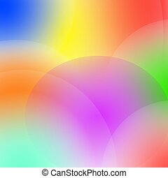 Light abstraction. Blurred multicolor rainbow background. Vector Illustration
