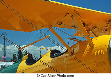 light aircraft cockpit