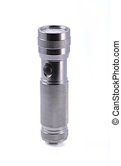 Light aluminium flashlight