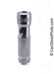 Light aluminium flashlight