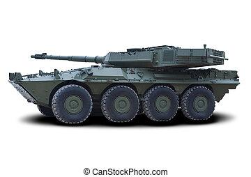 Light Assault Vehicle (LAV) - Green Military Light Assault...