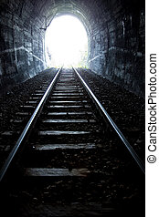 Light at the end of the tunnel - Train Tunnel