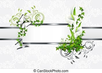 Light Background Lily - Heller Hintergrund Lilien