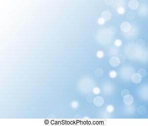 light background  - blue light background close up