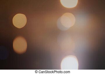 Light background Silver elegant gold bokeh