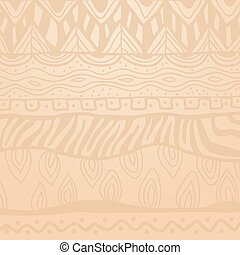 Light background with ethnic ornament