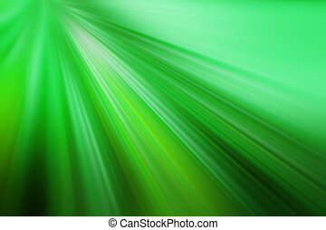 green background - light beams, green background