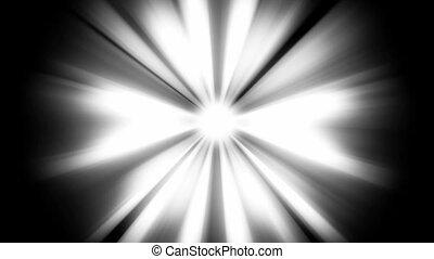 Light Beams: loopable shining star