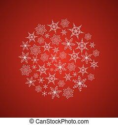 Light Beautiful Festive Winter Composition