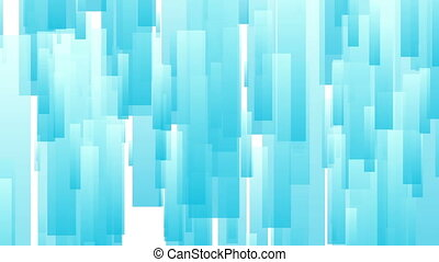 Light blue abstract tech geometric motion design - Light...