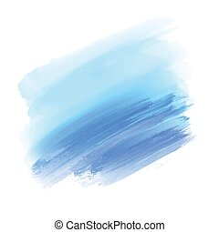 light blue and blue watercolor background