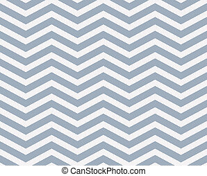 Light Blue and White Zigzag Textured Fabric Background