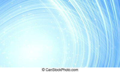 light blue curved lines abstract