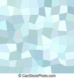 Light blue irregular rectangle background