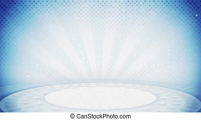 light blue loop background