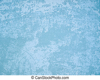 light blue old wall