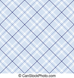 Light Blue Plaid - Light blue plaid with dark blue and white...