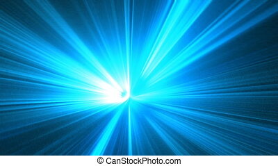 light blue rays seamless looping bg
