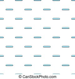Light blue rectangular button pattern