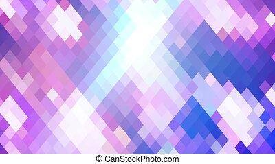 light blue rhombus tile loopable geometric background