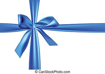 light blue ribbon