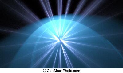 light blue seamless looping bg