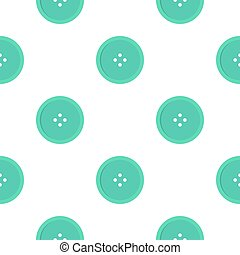Light blue sewing button pattern flat