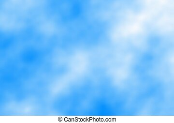 Light blue sky with clouds, abstract  background