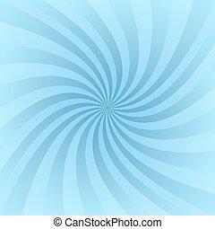 Light blue spiral pattern background