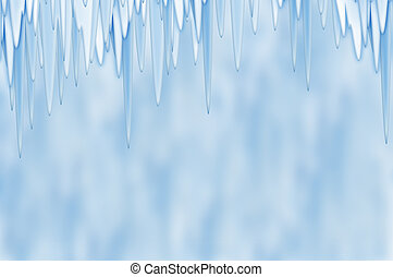 Light blue spring abstract background