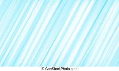 Light blue stripes abstract video animation