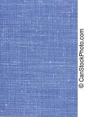 blue textile background from a vintage book cover