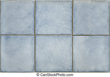 Light blue tiles texture that perfectly loop horizontally...