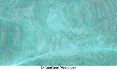 Light blue water waves