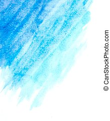 light blue watercolor abstract background. vector