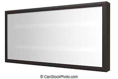 Light Box Perspective - A regular white flourescent lit ...