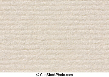 Light bright beige stripped paper texture close-up