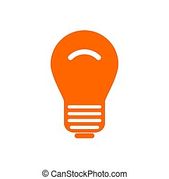 Light bulb and background