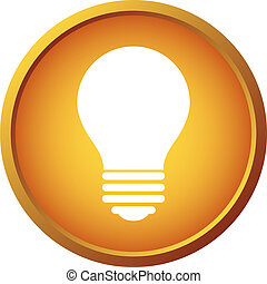 Light bulb button